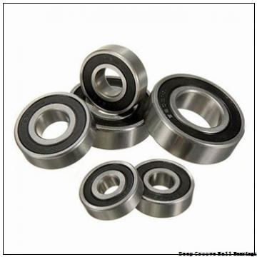 1.984 mm x 6.35 mm x 3.571 mm  skf D/W R1-4-2Z Deep groove ball bearings