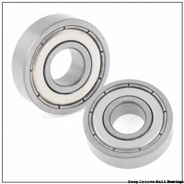 5 mm x 16 mm x 5 mm  skf W 625-2RS1 Deep groove ball bearings