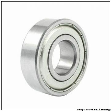 3,175 mm x 9,525 mm x 2,779 mm  skf D/W R2-6 Deep groove ball bearings
