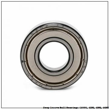 timken 6009-Z-NR Deep Groove Ball Bearings (6000, 6200, 6300, 6400)