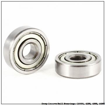timken 6206-ZZ-NR Deep Groove Ball Bearings (6000, 6200, 6300, 6400)