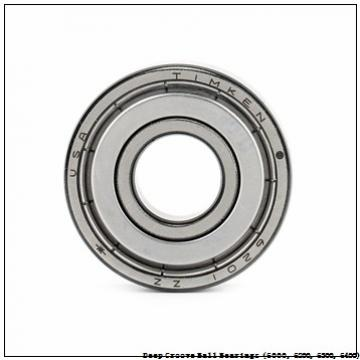 timken 6201-2RZ-NR Deep Groove Ball Bearings (6000, 6200, 6300, 6400)