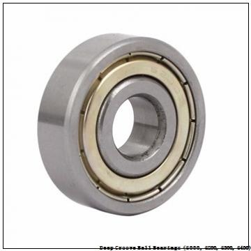 timken 6203-2RZ-NR-C3 Deep Groove Ball Bearings (6000, 6200, 6300, 6400)