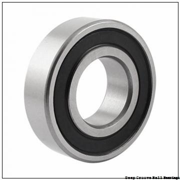 1.016 mm x 3.175 mm x 1.191 mm  skf D/W R09 Deep groove ball bearings