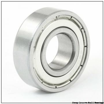 6 mm x 13 mm x 5 mm  skf W 628/6-2RS1 Deep groove ball bearings