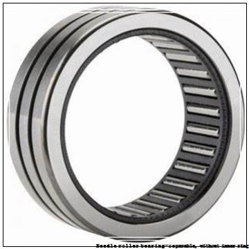 NTN RNAO-30X40X17 Needle roller bearing-separable, without inner ring