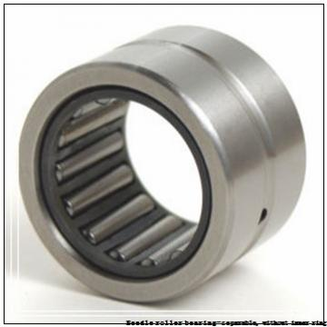 NTN RNAO-40X55X40ZW Needle roller bearing-separable, without inner ring